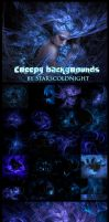 Creepy backgrounds  by STARSCOLDNIGHT by StarsColdNight