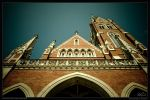 Herz-Jesu Church 3 by TheRenART