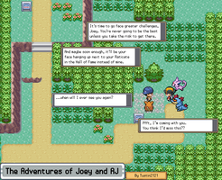 Joey Adventure [J000] Teaser Comic by Tustin2121