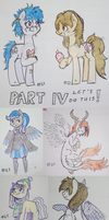 100 free traditional doodles 4/5 by Reporter-Derpy