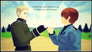 MMD Hetalia - Pinky Swear and promise me by PikaBlaze