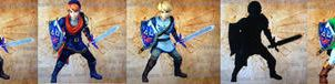Hyrule warrior's series Link by isaac77598
