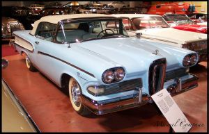 1958 Edsel Pacer Convertible by compaan-art