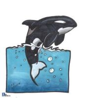 Orca by poseidonsimons-s by art4oceans