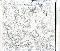 A Sketch Book page by Auroblaze