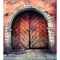 Oldest Door .. Ever (Estonia) by ericvarney