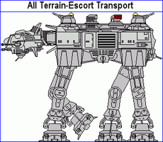 All Terrain Escort Transport by MarcusStarkiller