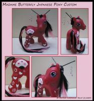 Japanese Madame Butterfly Pony by hevic