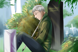 Sherlock- Waiting by dbrloveless