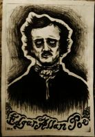 Edgar Allan Poe by TheVictim714
