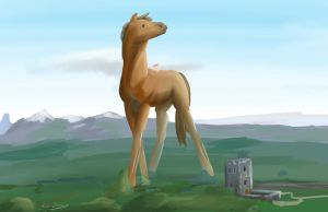 Giant Horse by Abrr2000