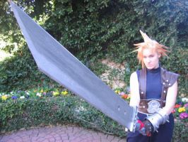 Cloud Cosplay of DOOM by CicatriceMiki