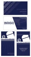 Tarjetas Estudio Indigo by alexflowers