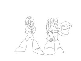 WIP: Blues/Protoman Ver.2? by Kenji42