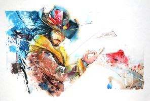 Twisted Fate - League of legends by Abstractmusiq