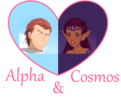 Alpha and Cosmos thumbnail by PiccoloFreakNamick