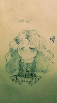Dont Cry :( by GIassPiano