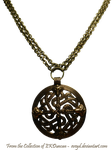 Vintage Viking Shield Necklace by EveyD