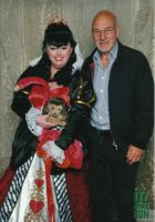 Me with Patrick Stewart by gurihere
