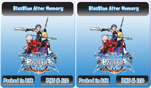 BlazBlue Alter Memory - Anime Icon by Rizmannf