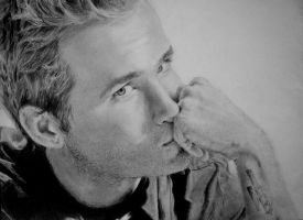 Ryan Reynolds by chaos-in-creation