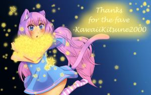 Thanks for the fave! by KawaiiKitsune2000