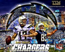 San Diego Chargers Wallpaper by tmarried