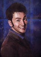 David Tennant as the Doctor by Lap12