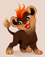 totally not simba nope not at all by Kiwibon