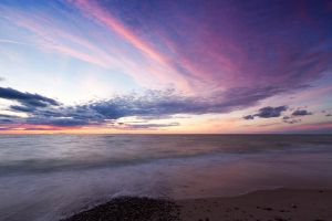 Evening on the Curonian Spit by khmaria