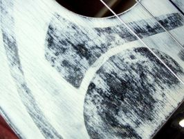 Detail of Milk Paint on 004 by thehappyukulele