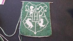 Slytherin Scarf by sweety665