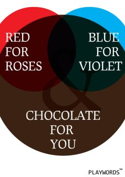 Red, Blue and  Chocolate by clux-box
