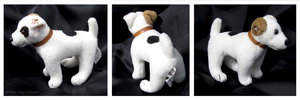 Wishbone Mini Plush - Possible Prototype by The-Toy-Chest