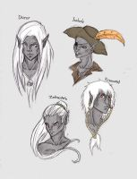 Drows from Forgotten Realms by ZirakAi