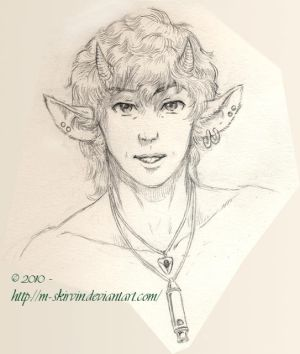 Young Male Satyr
