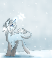 COM: Magic in the Snow by LauMizu