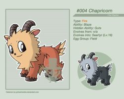 #004 - Chapricorn by grimarionette