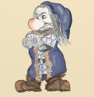 Grumpy Thorin Snowhite version by Orikunie