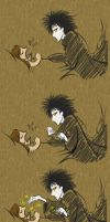 Sandman and me by HeiligerShadowfax