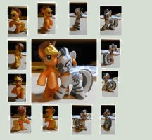 Zecora Custom with Hatted Applejack by Big-Joop