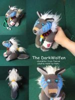 a little Dark Plushie by Nenu