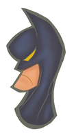 GoofyBatman by WilliamDettrey