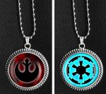 Star Wars Necklaces by iceSylum