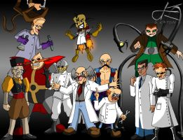 20150302 - The Mad Doctors Are In by Dustin-The-Grimm