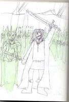 Aragorn and his army. by Luke-the-F0x