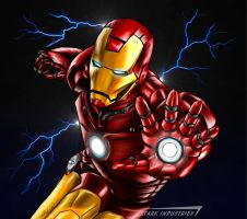 Ironman- High Voltage by DalekMercy