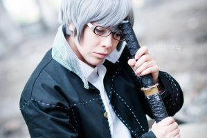 PERSONA4: protagonist by MadeinPlute