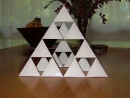 4 Frequency Tetrahedron by fritzcaterwall