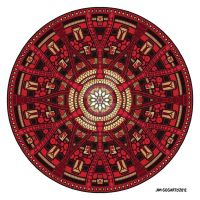 Mandala 45 coloured 1.0 by Mandala-Jim